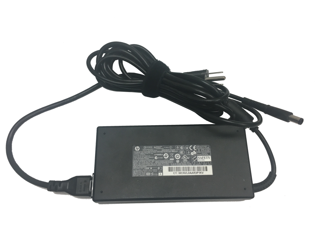This photo shows an HP 150 Watt AC Adapter - Standard Tip