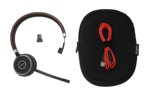 Jabra Evolve Mono With Adapter