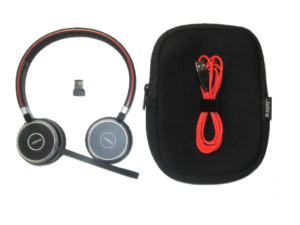 Jabra Evolve Stereo With Adapter